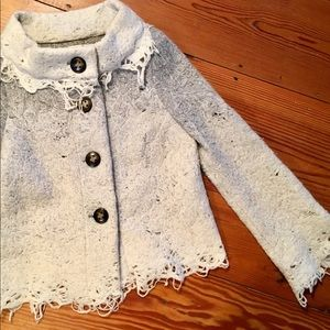 CASCH Wool Jacket for Anthropologie